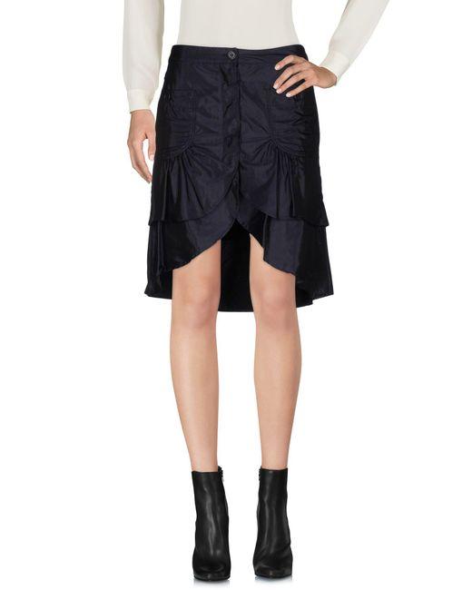 Aspesi - Blue Mini Skirts - Lyst