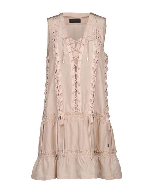 Diesel Black Gold - Multicolor Short Dress - Lyst