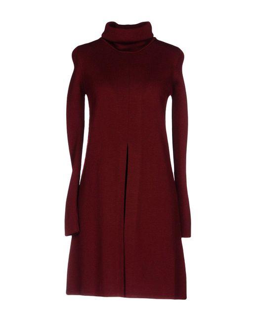 Roberto Collina - Red Short Dress - Lyst