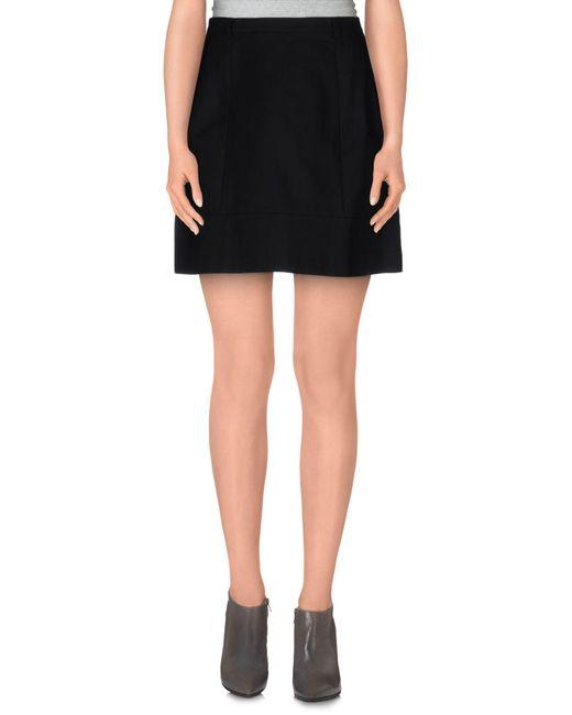 Miss Sixty - Black Mini Skirt - Lyst