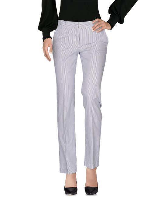 Aspesi - Gray Casual Trouser - Lyst