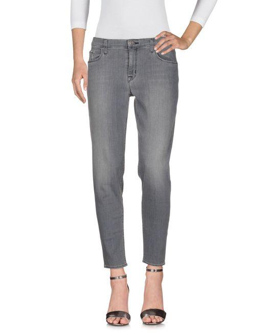 Hudson Gray Denim Trousers