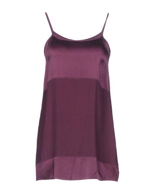 Drumohr - Purple Top - Lyst