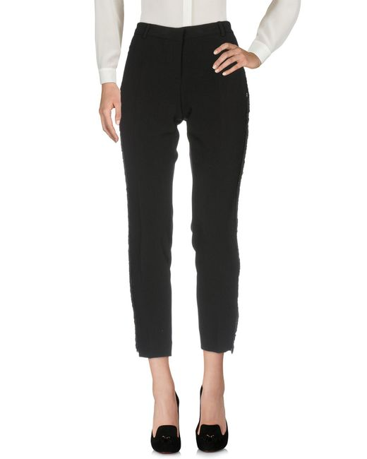Ottod'Ame - Black Casual Trouser - Lyst