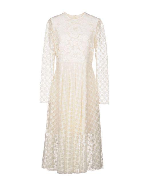 Philosophy Di Lorenzo Serafini - White 3/4 Length Dresses - Lyst