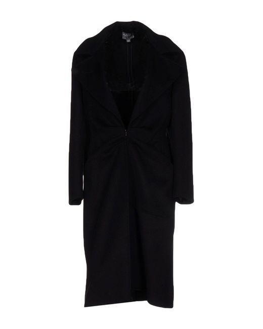 Roberta Furlanetto | Black Coat | Lyst
