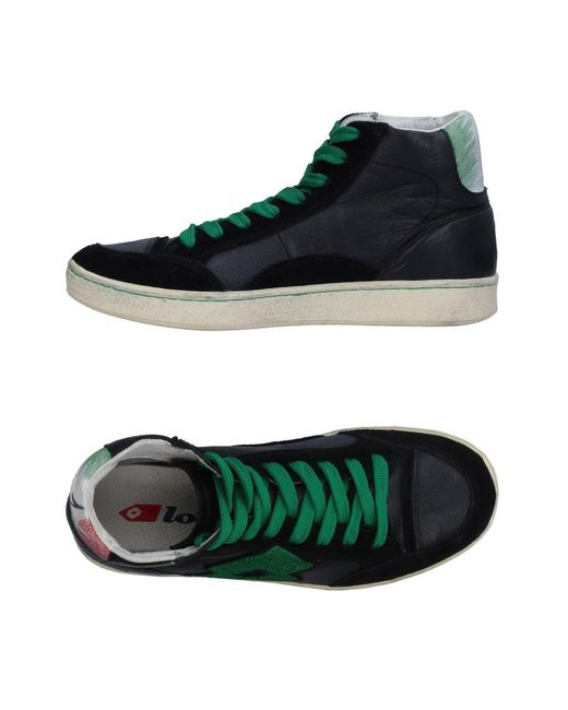 Lotto - Black High-tops & Sneakers for Men - Lyst