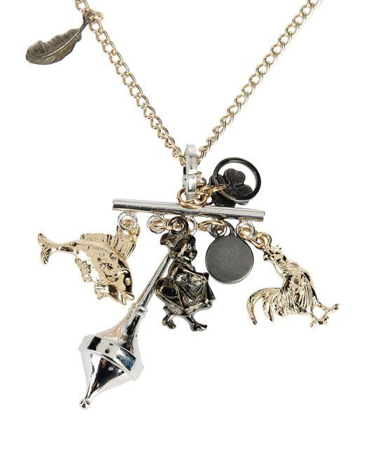 Jil Sander Navy | Metallic Necklace | Lyst