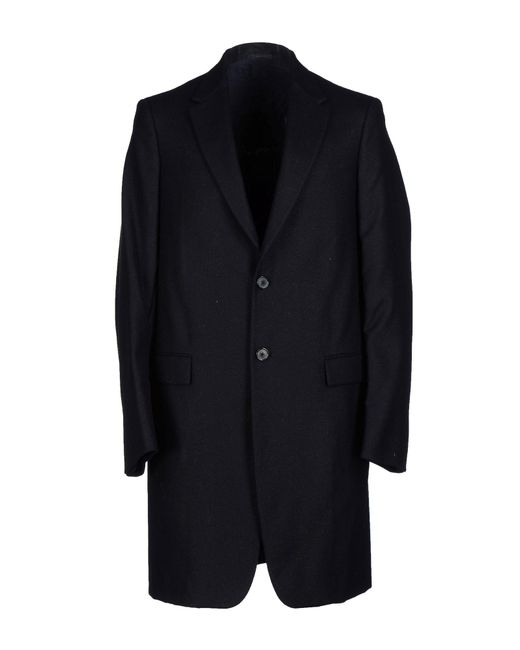 Jil Sander - Black Coat for Men - Lyst