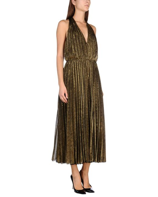 Space Style Concept - Metallic Jumpsuit - Lyst