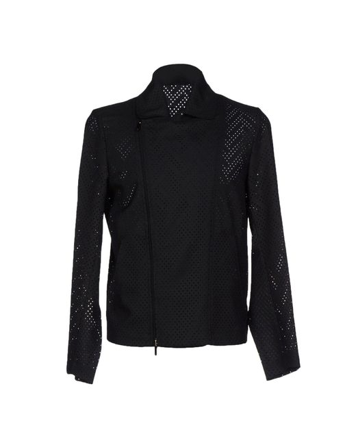 Emporio Armani - Black Jacket for Men - Lyst