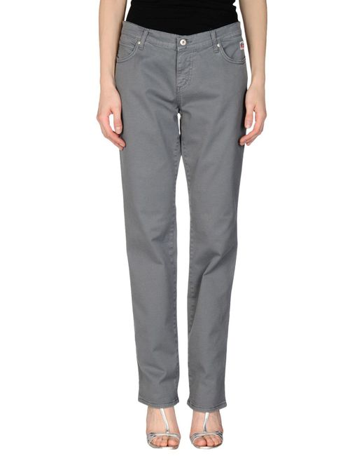 Roy Rogers - Gray Casual Pants - Lyst