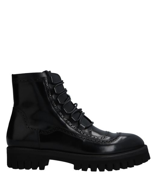 Dolce & Gabbana - Black Ankle Boots for Men - Lyst