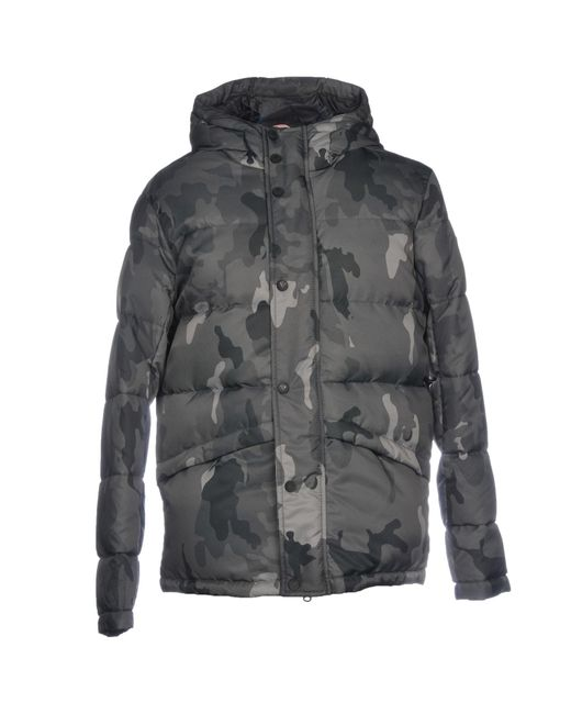 Rossignol - Gray Down Jacket for Men - Lyst
