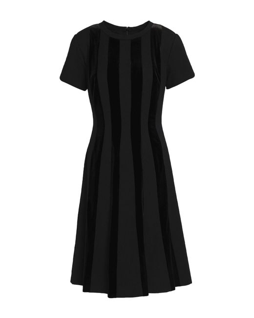 Mikael Aghal - Black Knee-length Dress - Lyst