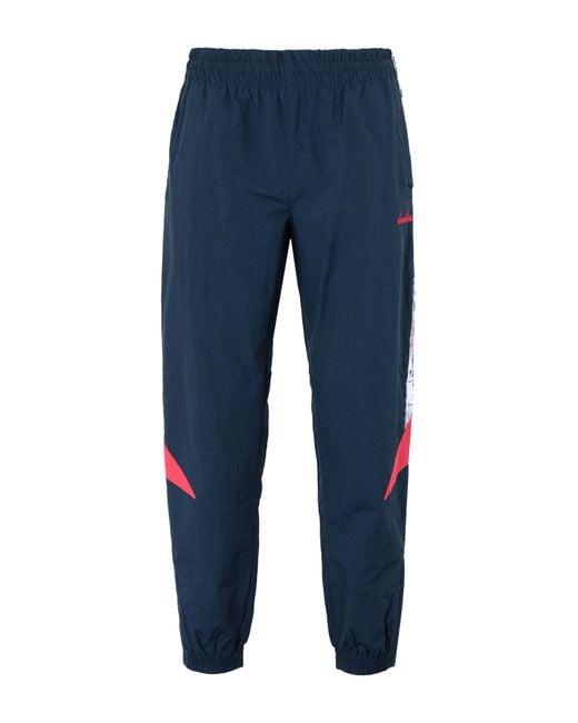 Diadora - Blue Casual Trouser for Men - Lyst