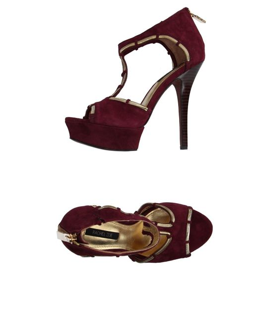 Rachel Zoe - Purple Sandals - Lyst