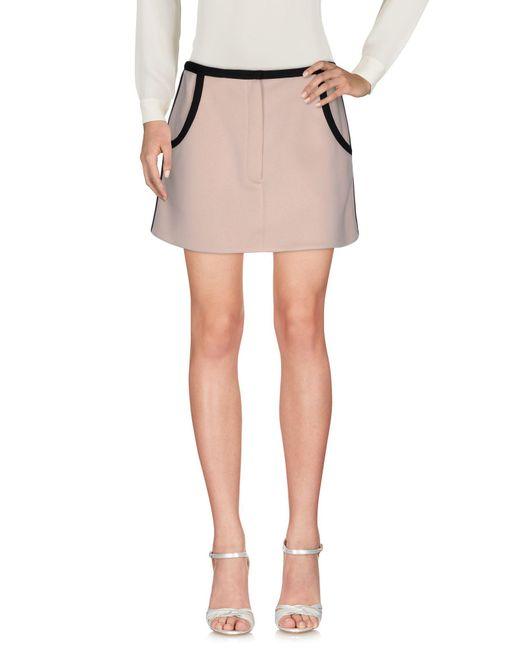 Marni - Pink Mini Skirt - Lyst