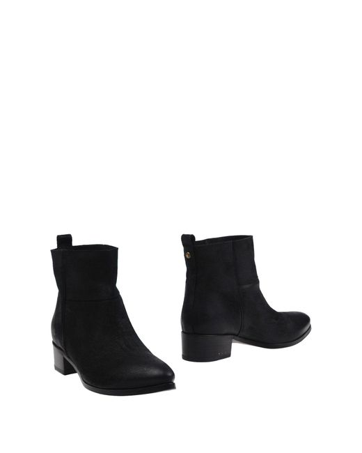 Buttero - Black Ankle Boots - Lyst