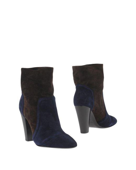 Michel Vivien | Blue Ankle Boots | Lyst