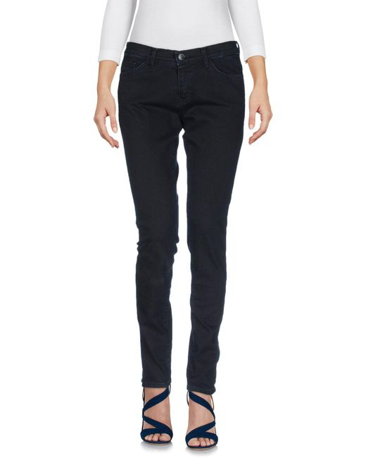Space Style Concept - Blue Denim Pants - Lyst