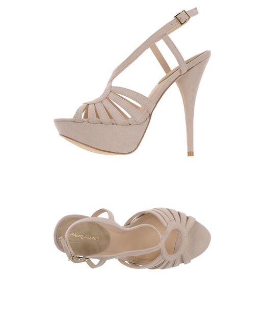 Alberto Moretti - Natural Sandals - Lyst