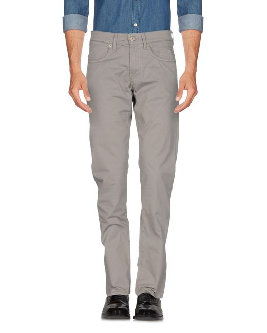 Siviglia - Gray Casual Pants for Men - Lyst
