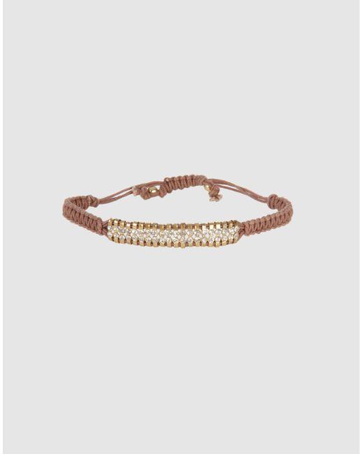 Shashi - Brown Bracelet - Lyst