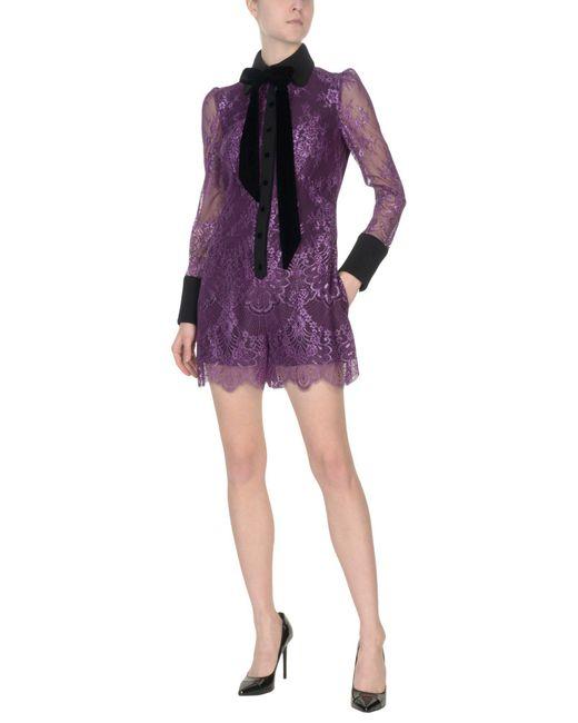 Philosophy Di Lorenzo Serafini - Purple Jumpsuits - Lyst