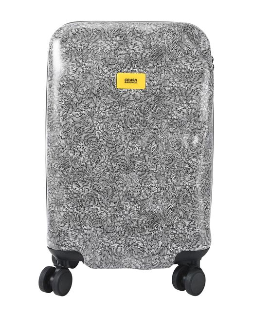 Crash Baggage Black Wheeled Luggage