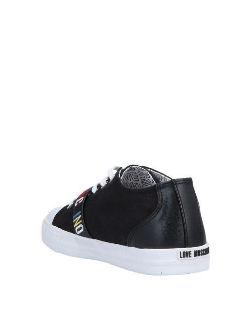 ef935f60038 Lyst - Sneakers   Deportivas Love Moschino de color Negro
