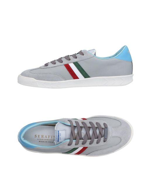 Serafini - Gray Low-tops & Sneakers for Men - Lyst