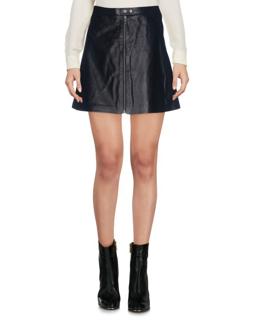 Muubaa - Black Mini Skirt - Lyst