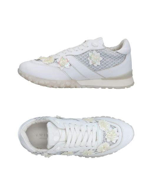 Twin Set - White Low-tops & Sneakers - Lyst