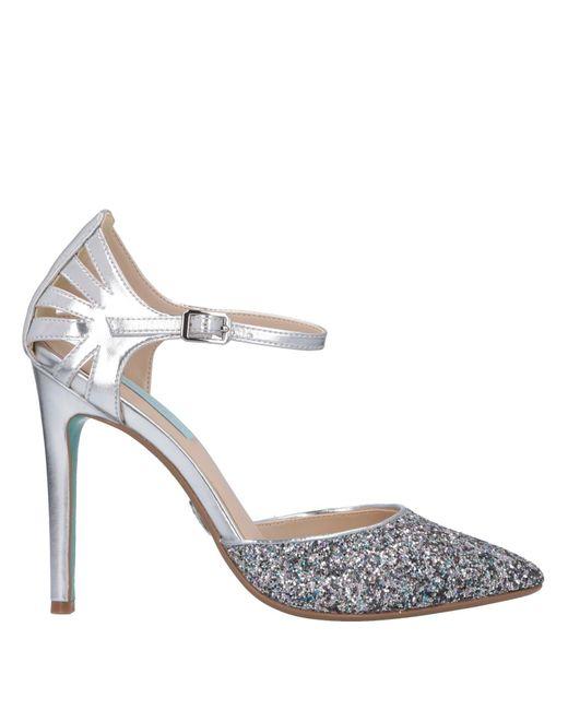Betsey Johnson - Metallic Zapatos de salón - Lyst