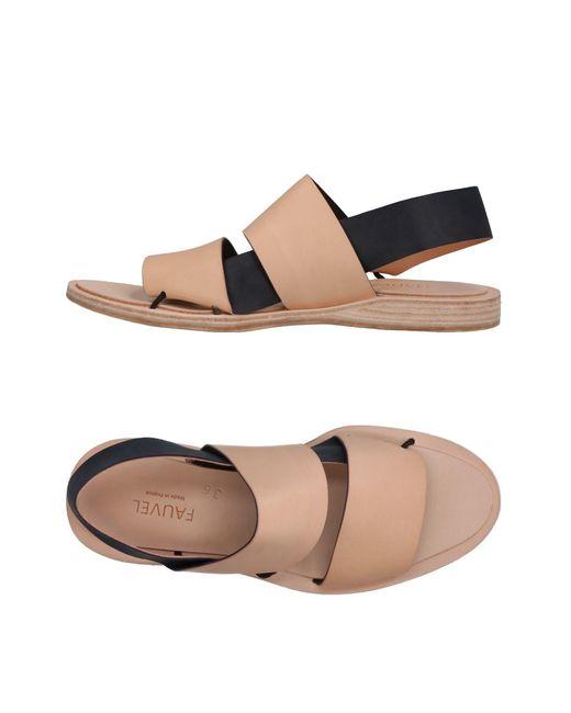 Fauvel - Multicolor Sandals - Lyst