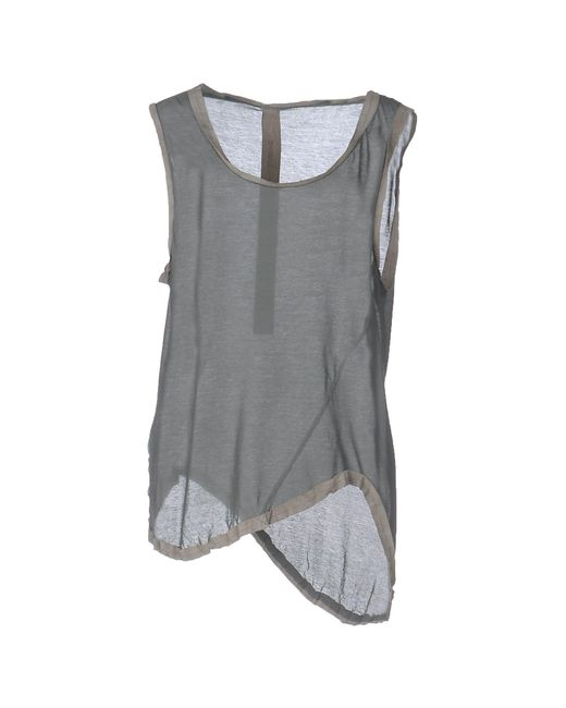 B-used - Gray Top - Lyst