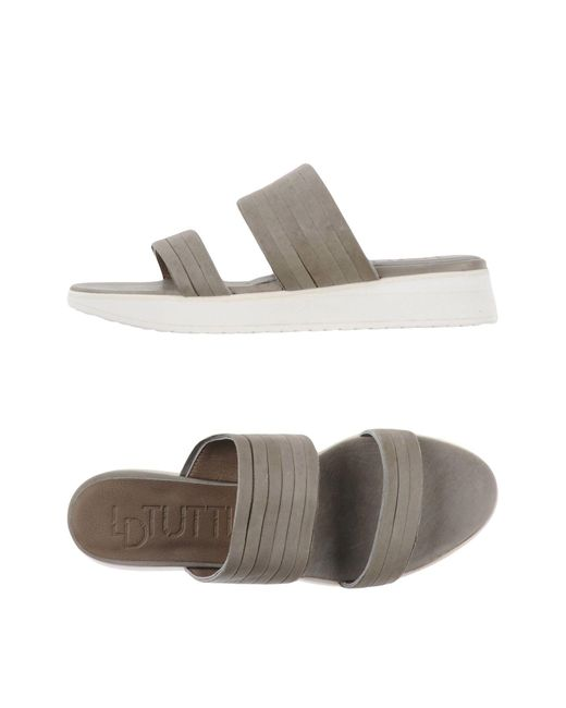 LD Tuttle | Gray Sandals | Lyst
