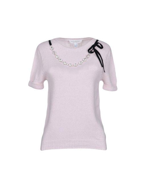 Philosophy Di Lorenzo Serafini - Pink Sweater - Lyst