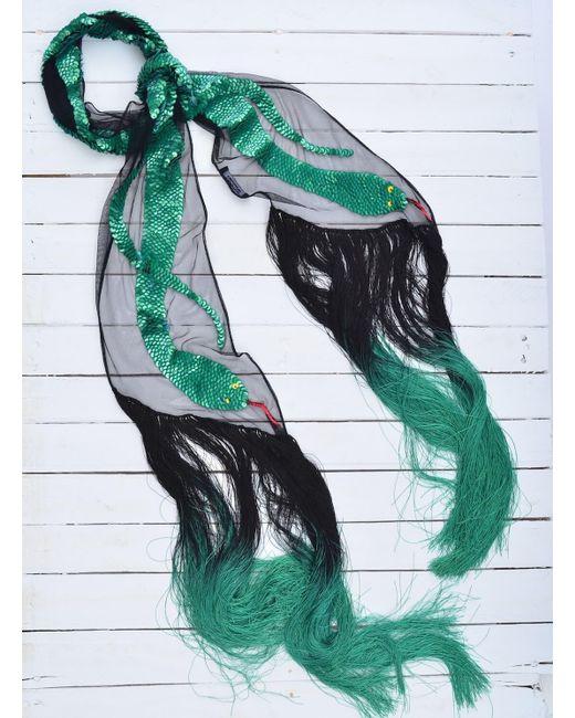 Rockins - Sequins Snake Scarf (green) - Lyst