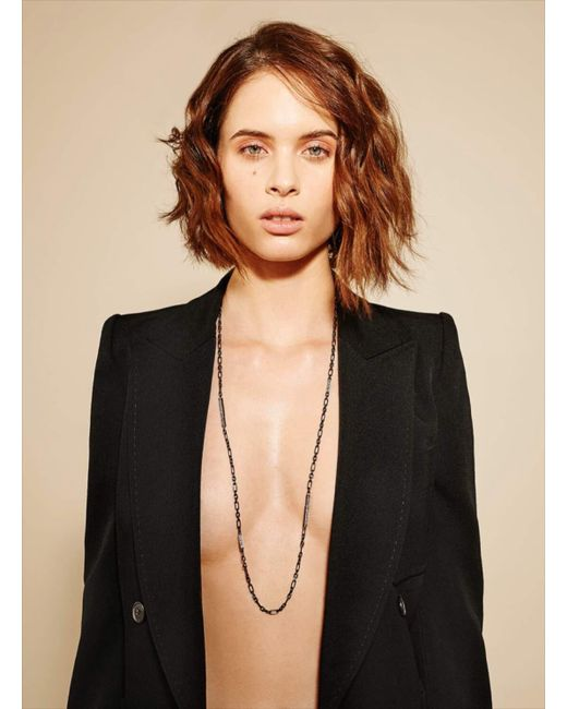 Maha Lozi - White You Don't Own Me Necklace - Lyst