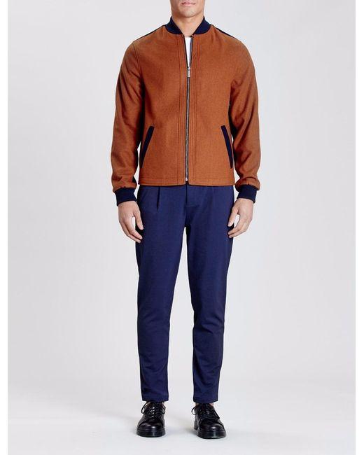 Native Youth - Blue Maldon Bomber Jacket for Men - Lyst