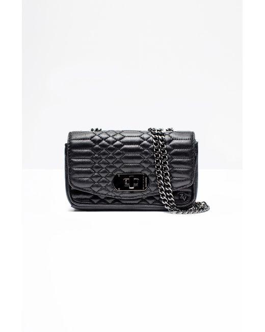 Zadig & Voltaire | Black Skinny Love Clutch Bag | Lyst