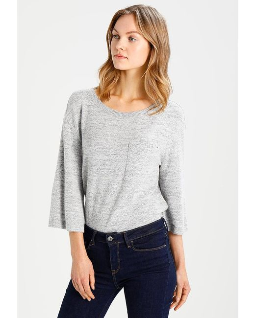 Gap | Gray Boatnk Jumper | Lyst