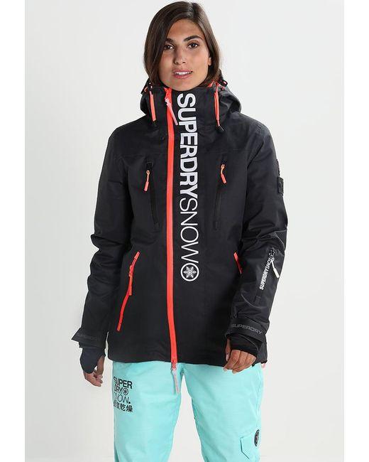 Superdry   Black Snowboard Jacket   Lyst
