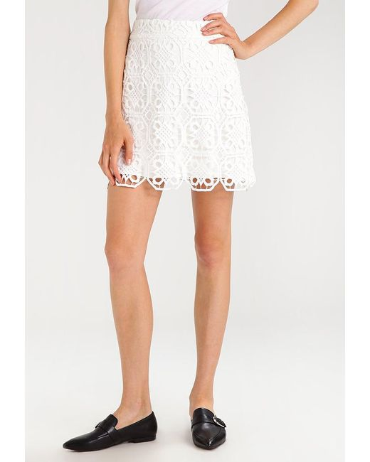 Endless Rose   White Scallop Lace A-line Skirt A-line Skirt   Lyst