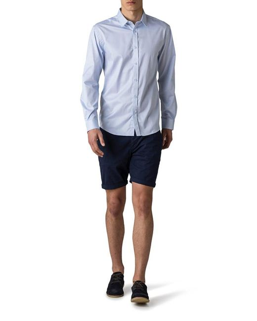 Jack & Jones | Blue Jjprandrew Slim Fit Shirt for Men | Lyst
