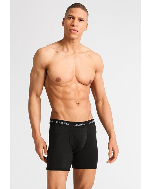 Calvin Klein | Black Modern Essentials Shorts for Men | Lyst