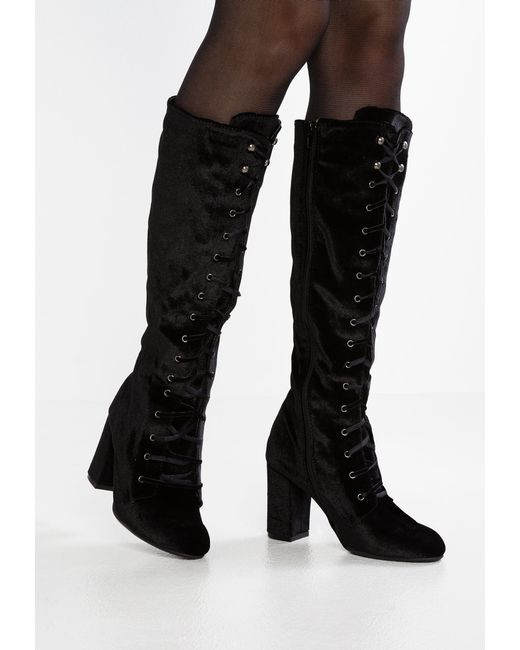 Dorothy Perkins   Black Kake Lace-up Boots   Lyst