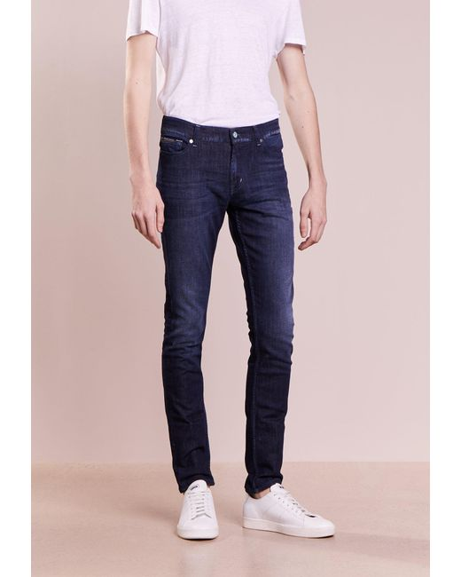 7 For All Mankind   Blue Ronnie Spedbudabl Slim Fit Jeans for Men   Lyst